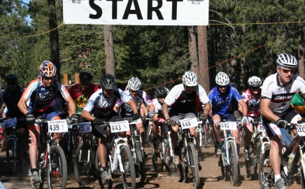 Mtn. bike racing……