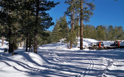 Winter Groomed Trail System