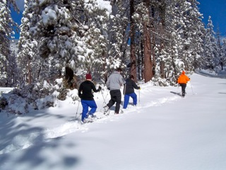 ANYONE CAN SNOWSHOE!