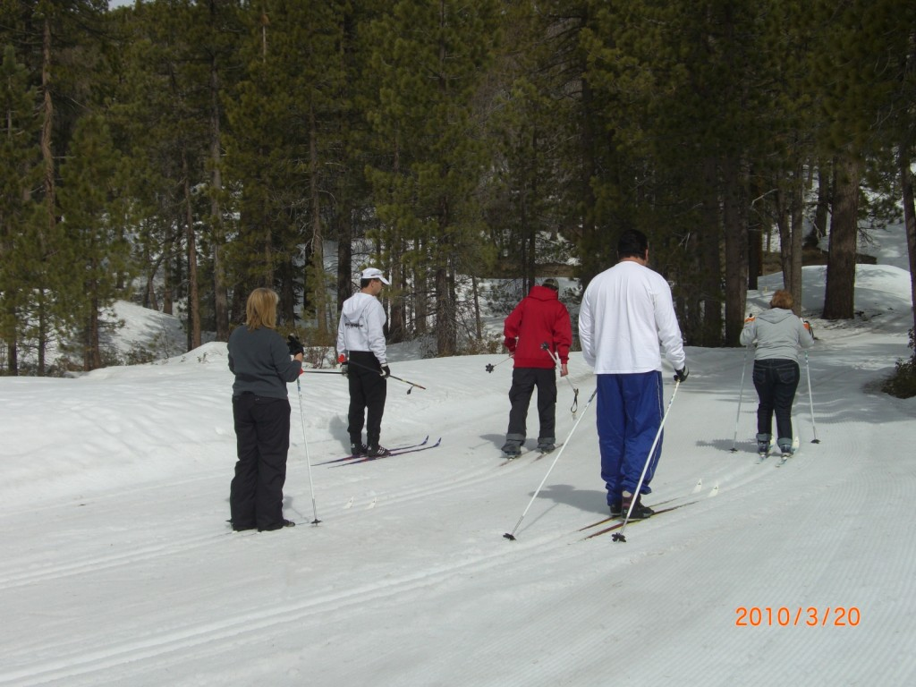 Rim Nordic Ski Area Cross Country Ski Lessons