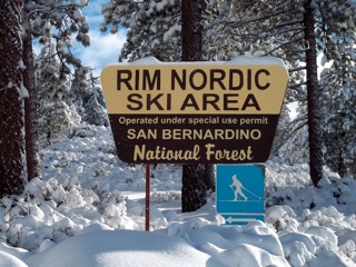 Welcome to Rim Nordic Ski Area             & Bike Park