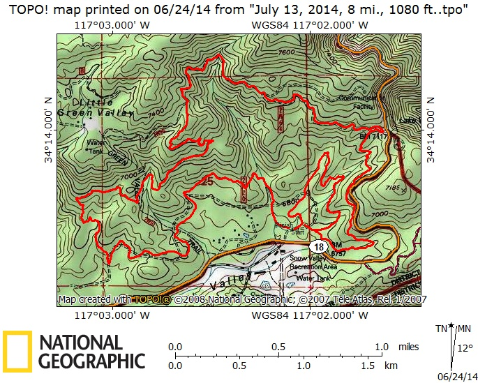 July 13, 2014 XC Course