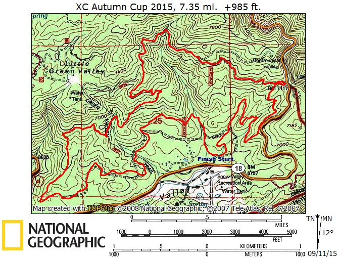 XC Autumn Cup  9-20-15